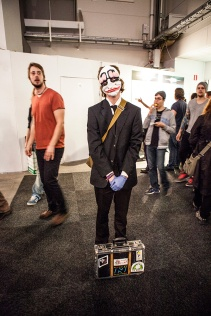 Batman cosplay at GAMEX / Comic Con 2014