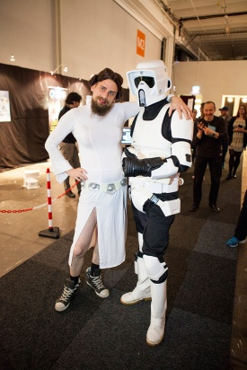 Star Wars cosplay at GAMEX / Comic Con 2014