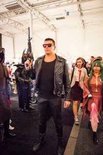 Terminator cosplay at GAMEX / Comic Con 2014