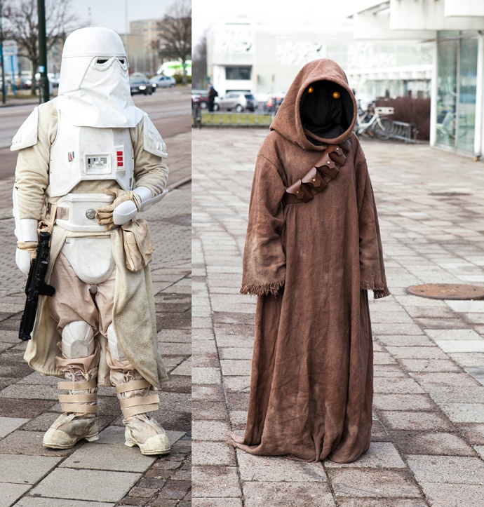 Star Wars cosplay at Sci-Fi World Malmö 2015