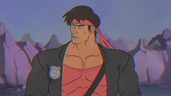 Kung Fury cartoon