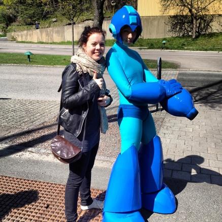NinjaBrite with Megaman