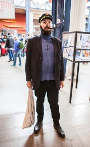 Captain Haddock cosplay