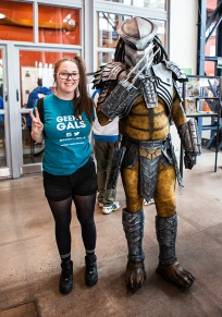 Geeky Gals with the Predator