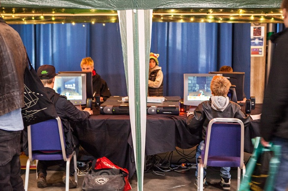 DOOM LAN at Retrospelsmässan 2015