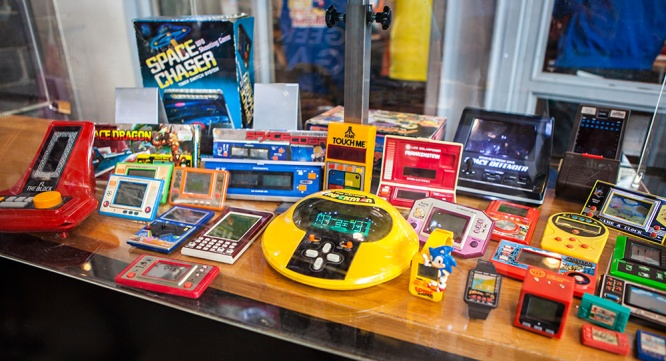 Vintage handheld collection