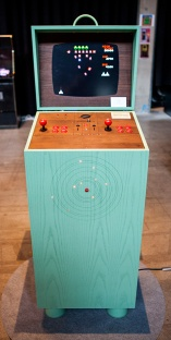 Love Hulténs Arcade cabinet