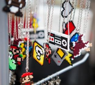 Retro gaming jewelry