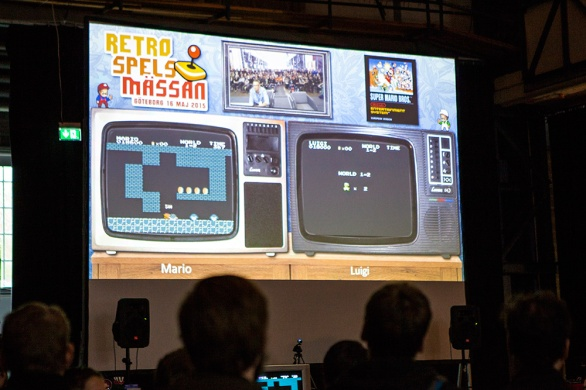 Super Mario Bros competition at RSM 2015
