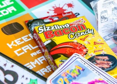 Geeky Gals Giveaway - Sizzling Bacon Candy!!