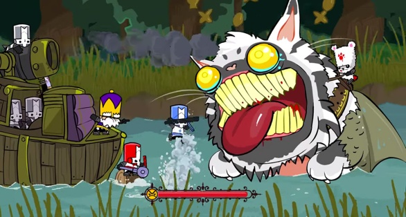 Castle Crashers Remastered screenshot Catfish