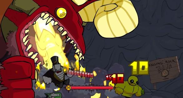 Castle Crashers Remastered screenshot Run Away!