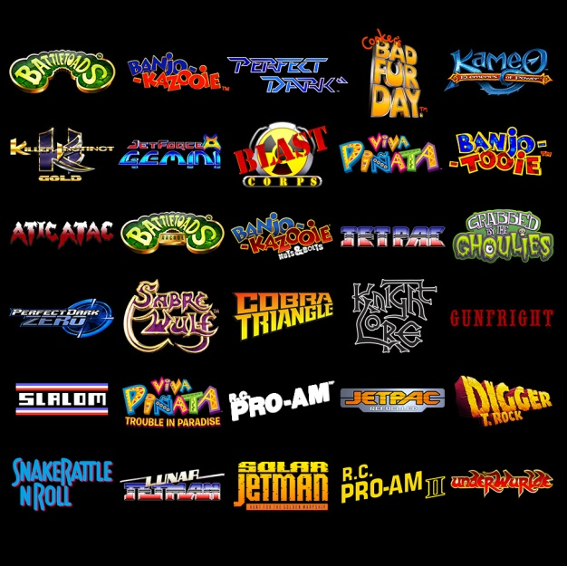 Rare Replay games