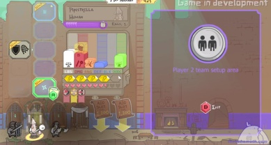 The Behemoth Game 4 - Screenshot equipping