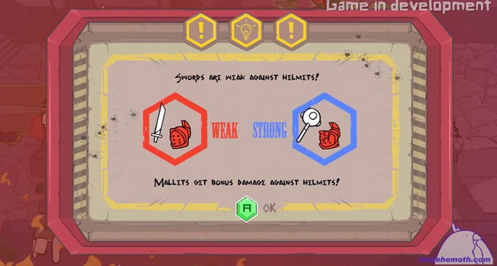 The Behemoth Game 4 - Screenshot mallets