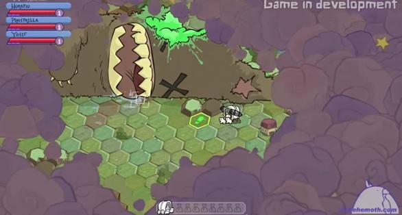 The Behemoth Game 4 - Screenshot map