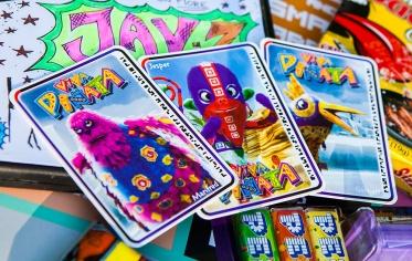 Geeky Gals Giveaway - Viva Pinata cards