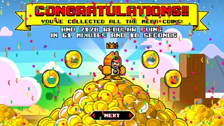 A winner is you - Mega Coin Squad Screenshot