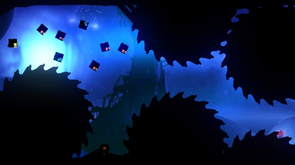 Badland screenshot square blob horde