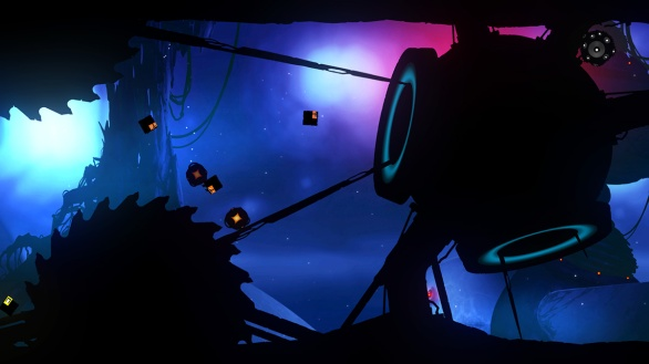 Badland screenshot square blobs