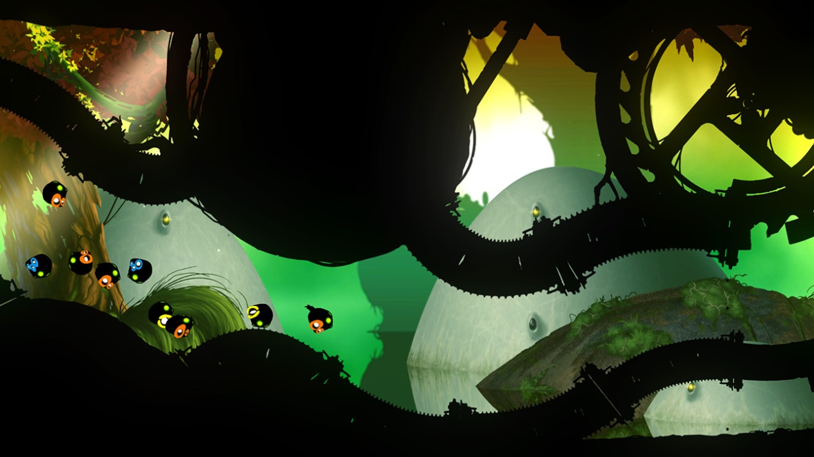 Badland screenshot sticky blobs