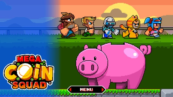Characters - Mega Coin Squad Screenshot