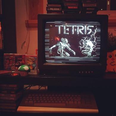 Commodore 64 Tetris