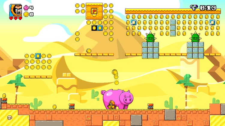 Desert stage - Mega Coin Squad Screenshot