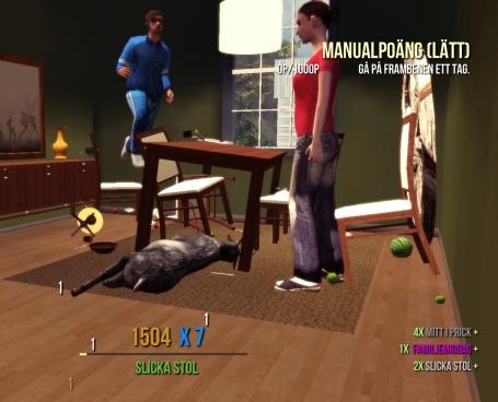 Goat Simulator screenshot Dinner