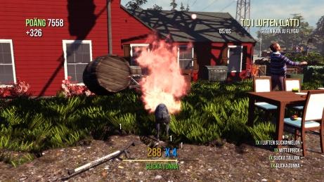 Goat Simulator screenshot Fire!!