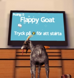 Goat Simulator screenshot Flappy Goat