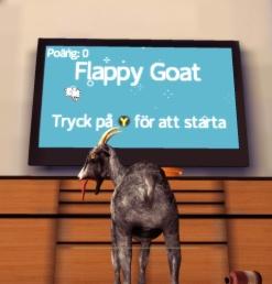 Goat Simulator screenshot Flappy Goat