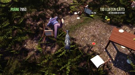 Goat Simulator screenshot I've got you!