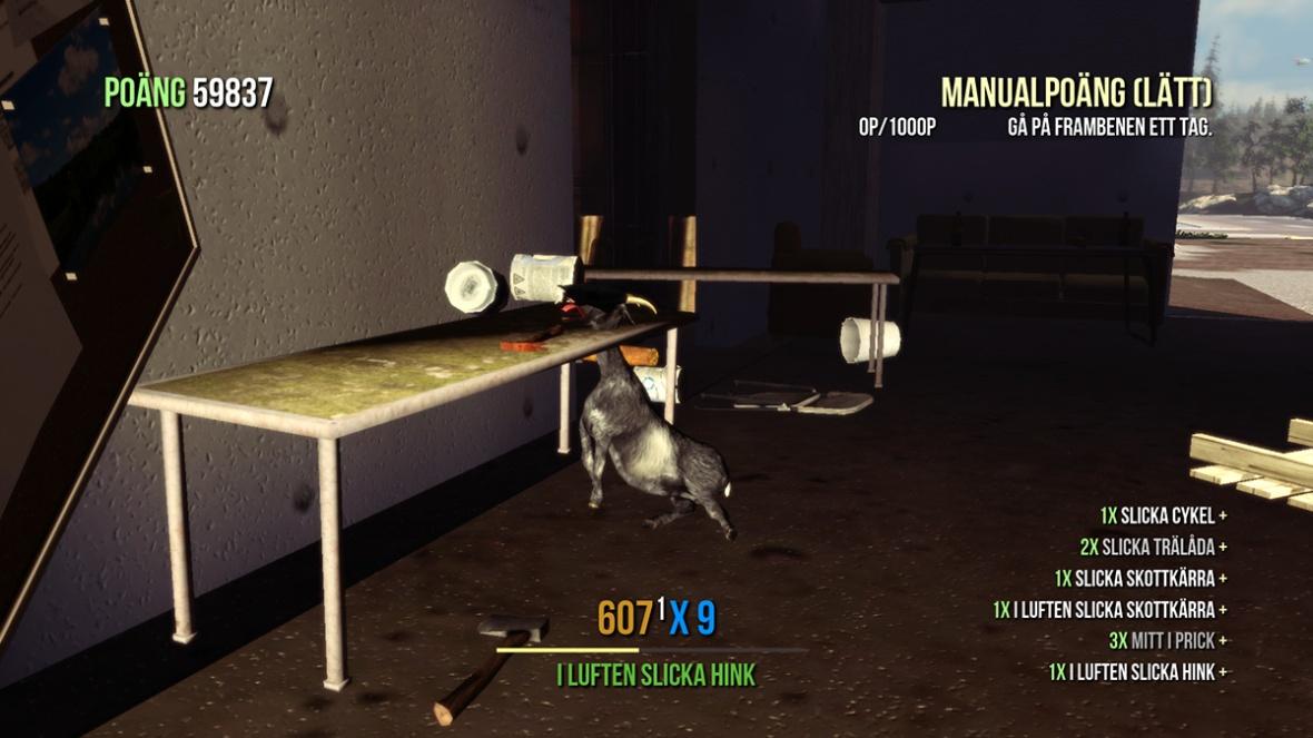 Goat Simulator screenshot Stuck...