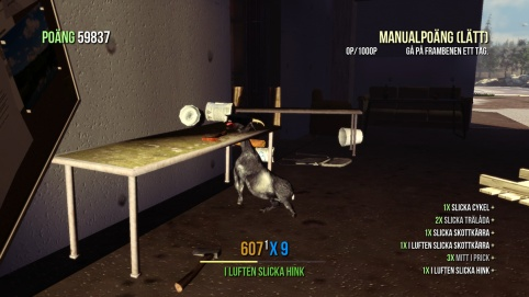 Goat Simulator screenshot Stuck...