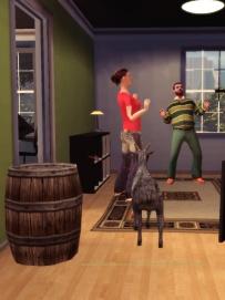 Goat Simulator screenshot Wazzaaaap