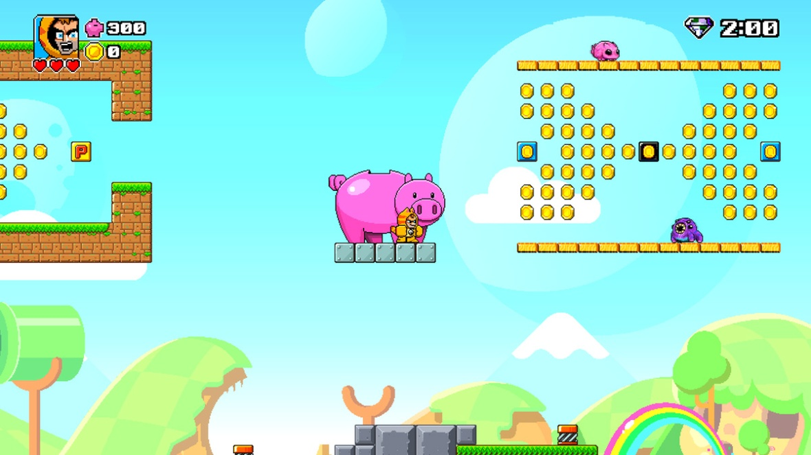 Single Player Stage - Mega Coin Squad Screenshot