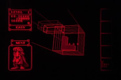 3D Tetris - Virtual Boy Screenshot