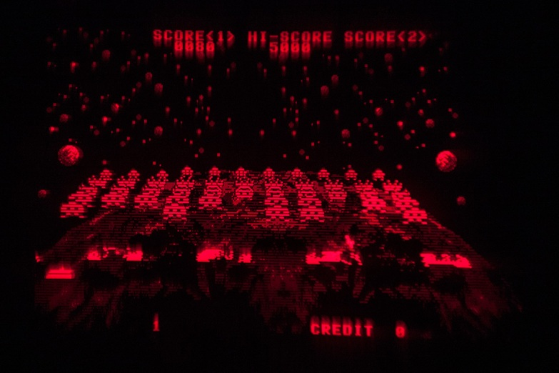 Space Invaders - Virtual Boy Screenshot
