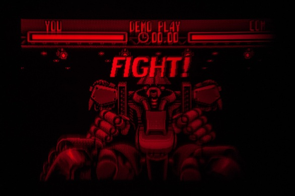 Teleroboxer - Virtual Boy Screenshot