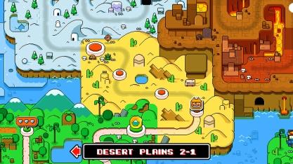 World map - Mega Coin Squad Screenshot