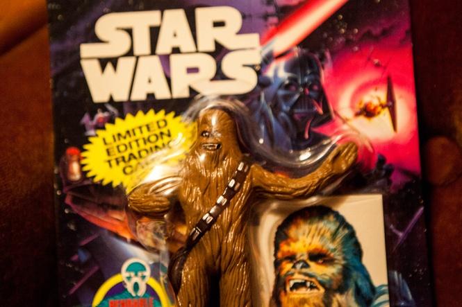 Star Wars Bend-Em toy Chewbacca