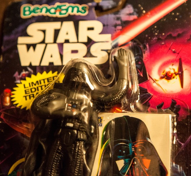 Star Wars Bend-Em toy Darth Vader