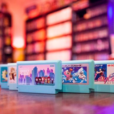Geeky Gals Mystery Famicom cart