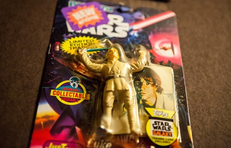 Star Wars Bend-Em toy Luke Skywalker