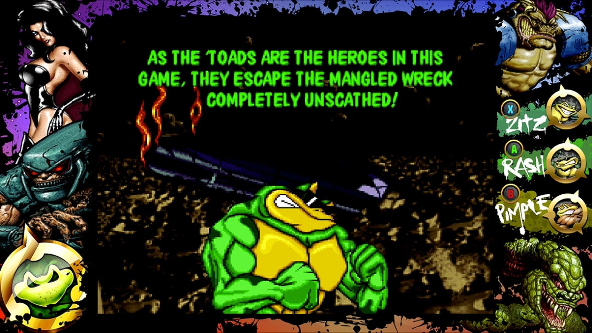 Rare Replay - Battletoads arcade ending