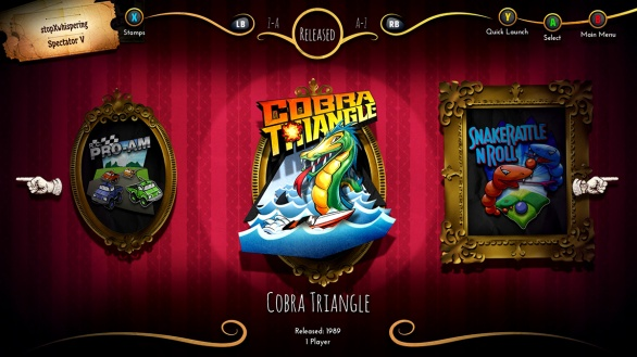 Rare Replay game gallery- Cobra Triangle
