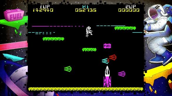 Jetpac gameplay - Rare Replay