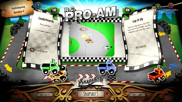 R.C. Pro-Am Snapshot 5- Rare Replay