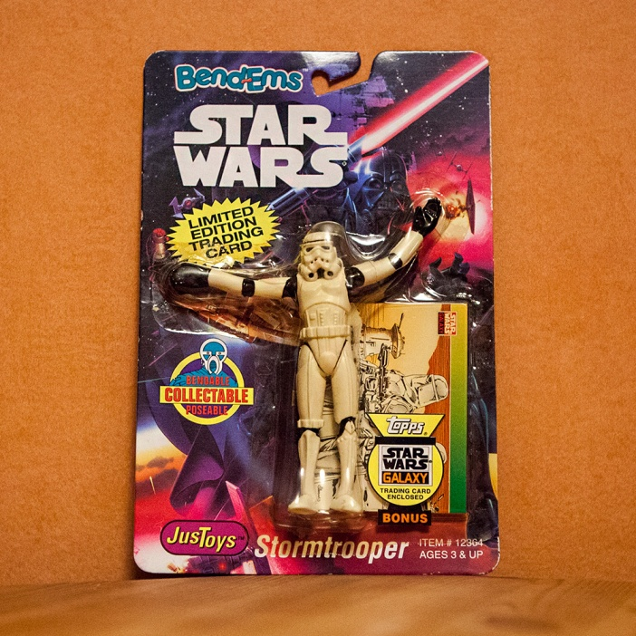 Star Wars Bend-Em toy Stormtrooper